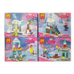 Конструктор LELE 37025 аналог LEGO Набор из 4 конструкторов DISNEY PRINCESSES