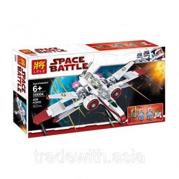 Конструктор LELE 35004 аналог LEGO 8088 ARC-170 Starfighter STAR WARS