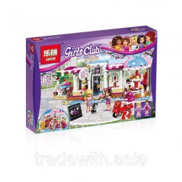 Конструктор LEPIN 01031 аналог LEGO 41119 Кондитерская LEGO FRIENDS
