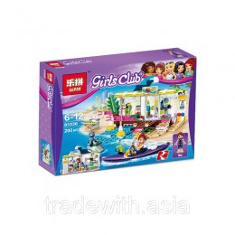 Конструктор LEPIN 01036 аналог LEGO 41315 Сёрф-станция LEGO FRIENDS