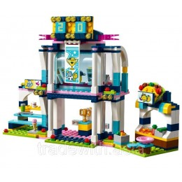 Конструктор LEPIN 01061 аналог LEGO 41338 Спортивная арена для Стефани LEGO FRIENDS
